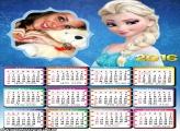 Calendário Princesa Elsa 2016