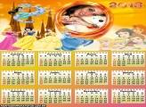 Calendário As Princesas 2013
