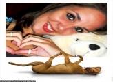 Moldura Cachorro Preguiçoso