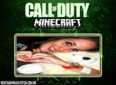 Moldura Call of Duty Minecraft