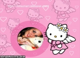 Anjinha Hello Kitty FotoMoldura