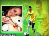 Moldura Neymar na Seleção