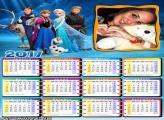 Calendário 2017 da Frozen