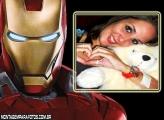Moldura Iron Man Os Vingadores