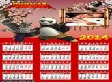 Montar Calendário 2014