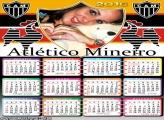 Calendário Atlético Mineiro Time Futebol 2016