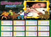 Calendário 2017 Scooby Doo Personagens