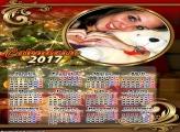 Calendário 2017 Árvore Linda de Natal