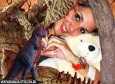 Moldura Dinossauro Brinquedo
