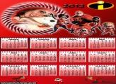 Calendário Família íncrivel 2013