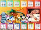 Calendário 2015 Turma da Disney