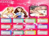Calendário 2015 Barbie