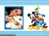 Moldura Pato, Mickey, Pateta