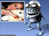 Moldura do Sapo Crazy Frog