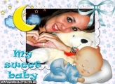 Moldura My Sweet Baby