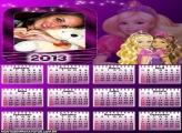 Calendário 2013 Barbie Amiga