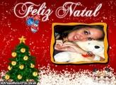 Feliz Natal Atrasado Moldura