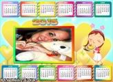 Calendário 2015 Mamãe