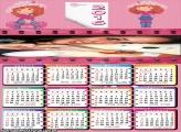 Calendário Filme Moranguinho 2016