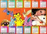 Calendário 2015 Pokémon