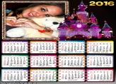 Calendário Castelo de Princesa 2016