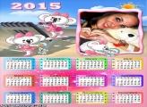 Calendário 2015 Lilica Ripilica