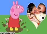 Peppa Pig Amor Coração