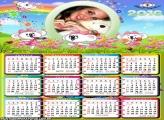Calendário Jardim de Flores 2016