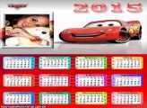 Calendário 2015 McQueen