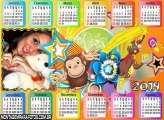 Calendário 2014 George