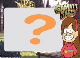 Moldura Gravity Falls Menina