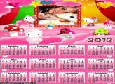 Calendário Hello Kitty 2013