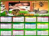 Calendário Madagascar 2013