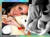 Moldura Pezinhos de Bebê