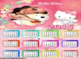 Calendário 2015 da Hello Kitty