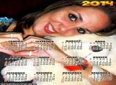 Calendário 2014 em Branco