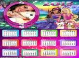 Calendário 2015 Barbie Cães