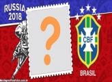 Moldura Goleiro Brasil Copa 2018