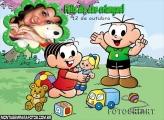 Feliz Dia das Crianças Brincando