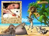 Madagascar Moldura Praia