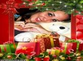 Moldura Caixa Presente de Natal