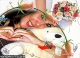 Moldura Noiva e Buquê