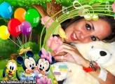 Festa Disney Baby Moldura