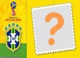Brasil na Copa da Rússia Moldura