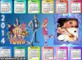 Calendário 2014 Montagem