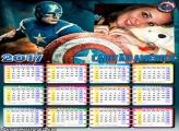 Calendário 2017 Capitão América