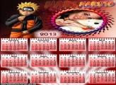 Moldura Naruto Calendário 2013