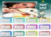 Moldura Calendário 2015 Coritiba
