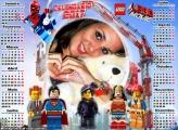 Calendário 2017 Lego Movie