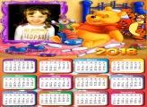 Calendário 2018 Brinquedos Urso Pooh